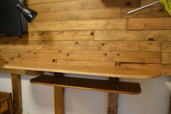 無垢材 カウンターテーブル DIY ディアウォール