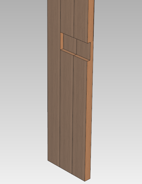 柱の切り欠き