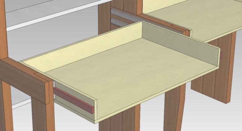 木製のレール