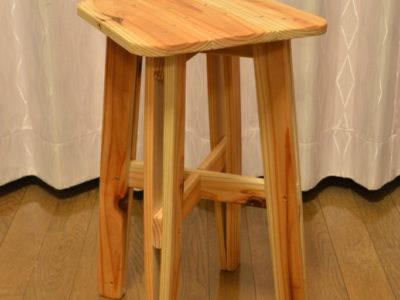 杉板スツールの自作