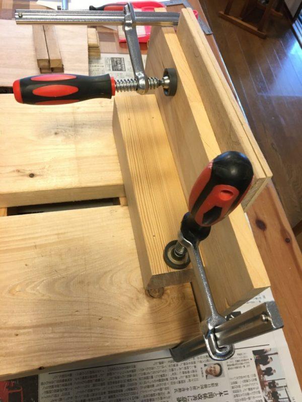 木材縦向き固定治具