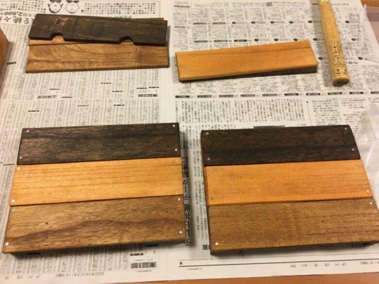 木箱 組み立て