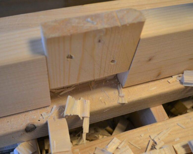 木材がはまりました!