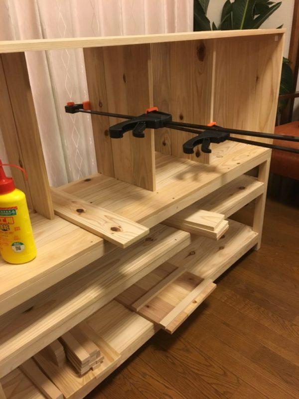 食器棚 組み立て