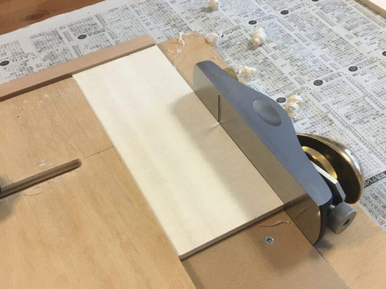 さくや式削り台の直線削り機能