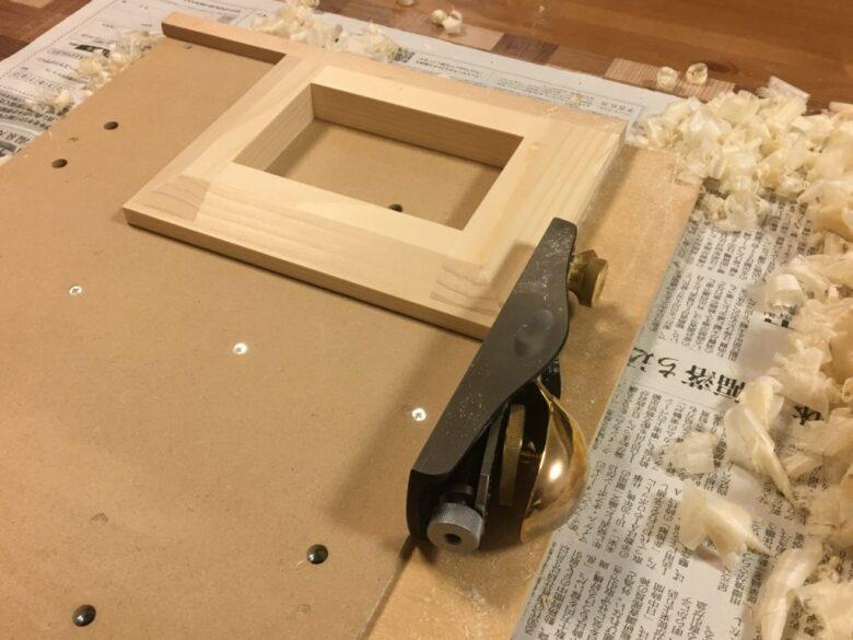 木端・木口の直角加工