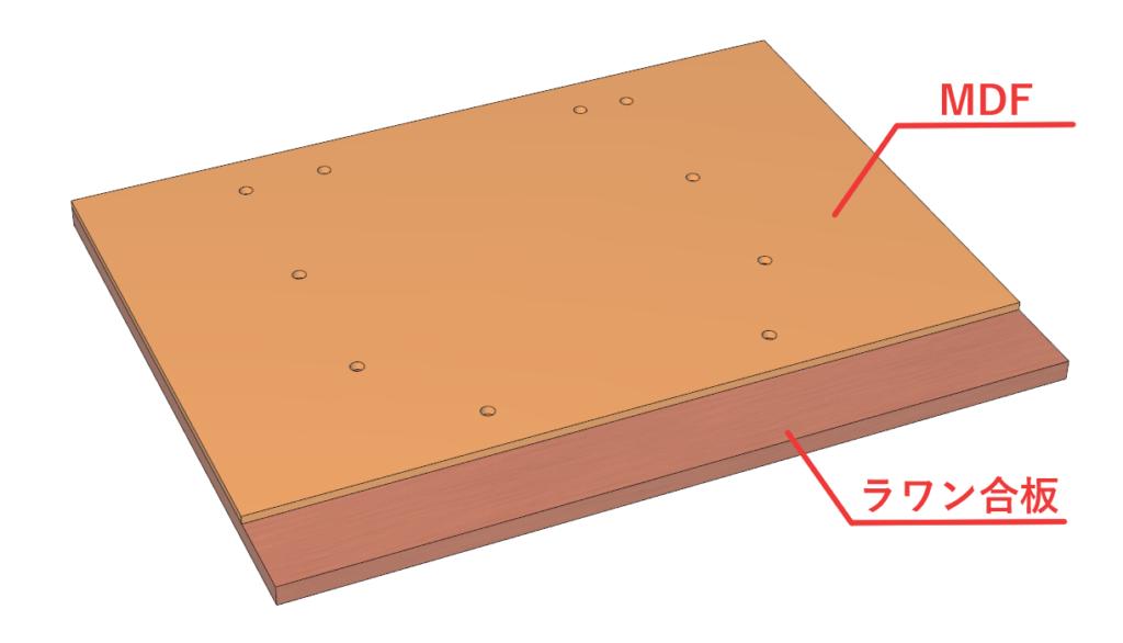 表板と基板