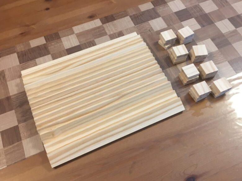 まずは木材を用意