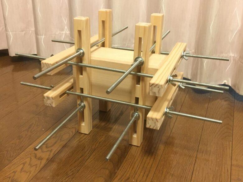 自作木工クランプの使い方