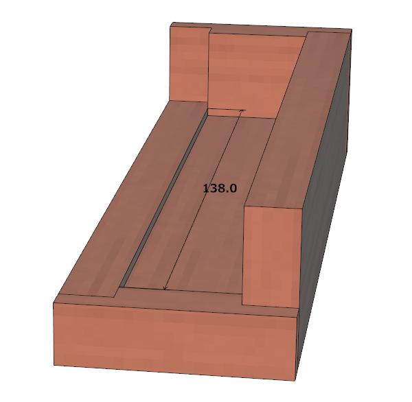 ダイスケースの設計図(トレー部分)
