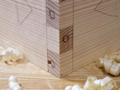 あられ組の底板の隠し方