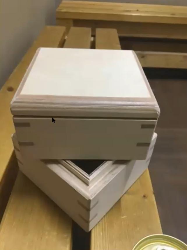 重箱の完成